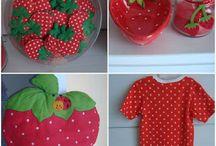 Anniversaire thème fraise