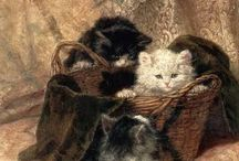 Macskák = életképek