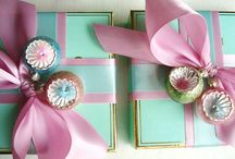 Vintage Pastels: Christmas Trends 2015 / Nostalgic pastel tones will be a key colour trend again this year.  Think hyper-synthetic pastel-coloured products from the 1950s: candyfloss pink or pastel blue.
