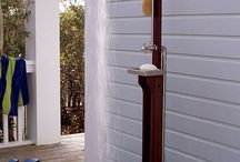 outdoor showers / by Lisa Nardone