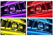 Gordon Dean II favorites / My favorite Mopar Muscle cars in their true bright colors  / by Terry Duncan