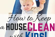 cleaning // kids