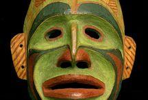 Native American Masks/Totem Poles
