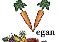 Vegan / Save the animals, save the planet, save yourself! Go Vegan!! / by Sara Ⓥ