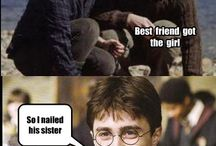 FUNNY! (and a bunch of awesome Harry Potter Stuff)  / by Kacee Smith