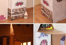 Домики / Детские игровые домики Playhouse diy
