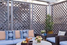 Private outdoor screens