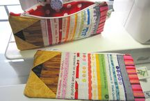 Sew bags and pouches / by Tiina
