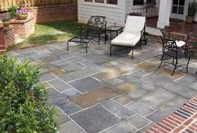 Patio/landscaping  / by Courtney Drummy