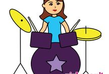 Drummer Girl / All things drummer girl! For female percussionists who know the meaning of Girls Can't WHAT? and have a passion for playing drums.