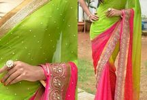 Designer sarees