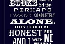 Books / Quotes from books and about reading