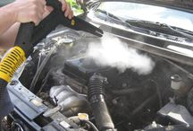 Engine Bay Steam Cleaning / Engine Bay Cleaning with Dry Steam Vapour