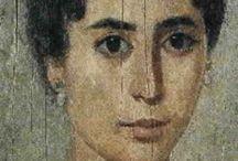 Ancient Egyptian Fayum portraits / Pin dedicated to ancient Egyptian Fayum portraits
