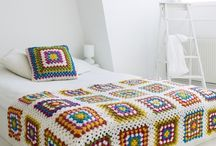 crocheted blankets and bedspreads