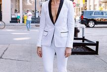 Lily Spruce Loves: She Wears the Pants / Pants, pant suits, and other non-traditional forms of wedding attire for the modern bride
