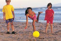 Surviving summer. / The beach. Sand. Beach babies. Beach boys/girls, keep those kids busy! Mama needs a drink. Sweet summertime.