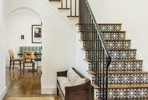 White old house modern interior