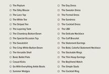 Wardrobe Checklist