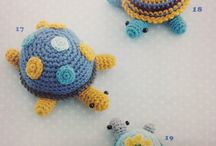 Crochet stuffed toys