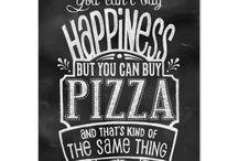 pizza parete
