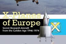 X Planes of Europe, The Book . / Exotic research aircraft designed, built, and flown in Europe in the 2 decades following World War II were the foreign equivalent of the legendary American X-Planes. Many of these advanced aircraft flown by test pilots such as Peter Twiss and Andre Turcat captured speed and altitude records previously held by their American counterparts.  Some of today's most famous and successful aircraft were influenced by advanced technologies first tested & flown on European X-Planes covered in this book.