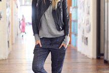 Leather jacket styling / by Jacqueline Shum