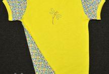 Wykroje dziecięce - bluzki, koszulki z krótkim rękawem
