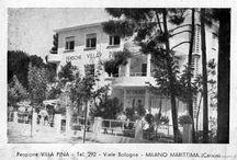 Come eravamo: Ieri e oggi / L' Hotel a Milano Marittima Villa Pina