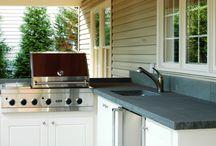 outdoor kitchen / by Cameryn Shay
