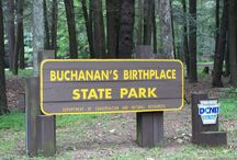 Area Attractions - Buchanan's Birthplace / A portion of the magnificent Tuscarora Trail runs through nearby Buchanan's Birthplace State Park. A bypass to the Appalachian Trail, the Tuscarora Trail follows the crest of the Tuscarora Mountains and offers day hikers one of the most striking treks in Pennsylvania.