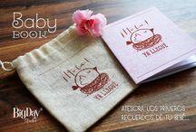 Mini Baby Book / / El primer librito de tu bebé!!