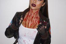 Maquillage de halloween