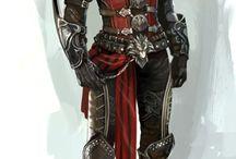 Faboo illustrations (armor & stuff)