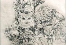 Tatuagens / Inspirações.