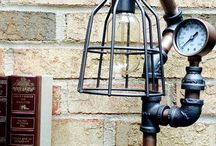 The Ironarium - Steampunk Lamps / Steampunk Lamps, Industrial Art, Functional Steampunk