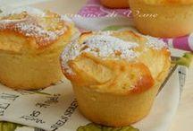 muffin allo yogurt e mele