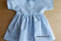 Robes de poupée
