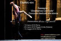 Nuovi eventi Ballet-ex 2016 / Tutti gli eventi ballet-ex per questo nuovo 2016! in bocca al lupo a ttti!