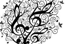 côté musique / decos