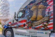 On the Road / Our Volunteer Trucking Companies