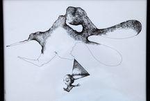 """Piotr Pasiewicz http://www.artpistols.pl/ / Piotr Pasiewicz urodził się w Polsce. Maluje od 1991 roku. W swych działaniach konsekwentnie tworzy świat, w którym przesiąknięte metafizyką kształty powstają w spontanicznym akcie twórczym. Fascynują go wzajemnie wykluczające się opozycje nie mogące bez siebie funkcjonować; """"kreuje wyłaniające się z wnętrza siebie uniwersum, które podlega ciągłej transformacji"""". Twórczość w zakresie grafik warsztatowej, rysunku, performance, wideoartów i krótkich form filmowych, rozwijał w Łodzi."""