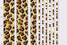 12-13 korálkové vzory