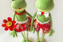 Frog children room