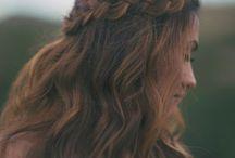 Hair / Plait around side of head