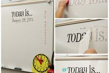 For the Trendy Teacher / A collection of items and ideas for adding a little bit of chic to your classroom.