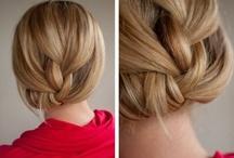 Hair / Easy styles, braids, and boho glam!