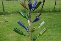 DIY Bottle Tree / by Julie Sturtevant