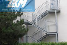 Schody zewnętrzne / Przykładowe, profesjonalne wykonania schodów zewnętrznych.