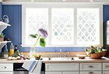 Blue and White / #decor #interiors / by Sue De Chiara   The Zhush